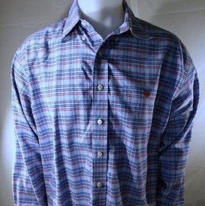 Brooks Brothers Plaid Flannel Shirt